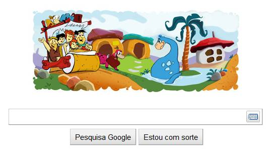 Os Flintstones no Google