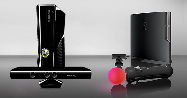 Microsoft Kinect - PlayStation MOVE