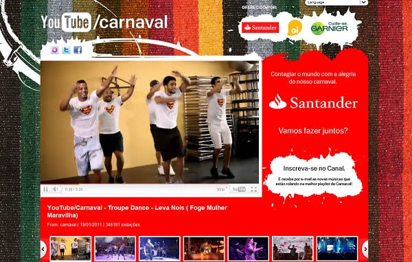 YouTube Live - Carnaval