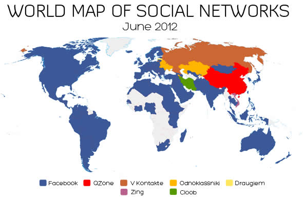 World Social Map
