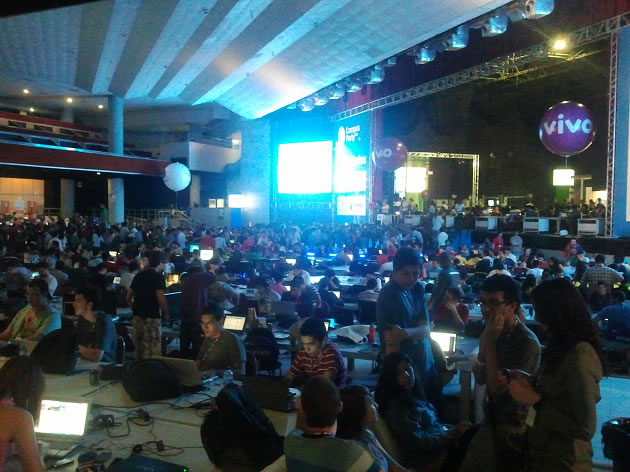 Entrada da Campus Party Recife