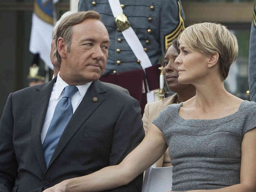 """House of Cards"", sucesso do Netflix"
